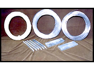 Zinc Wire, Zinc Anodes, Zinc Sticks for Gas Cylinder & Capacitor Manufacturing Units